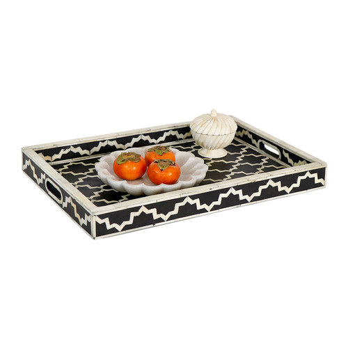 Leila Bone Inlay Tray