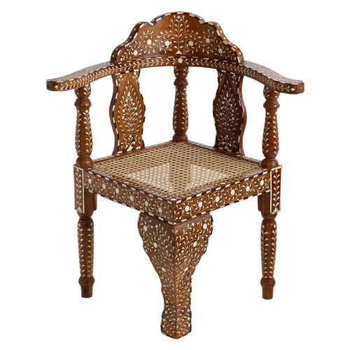 Udaipur Bone Inlay Chair