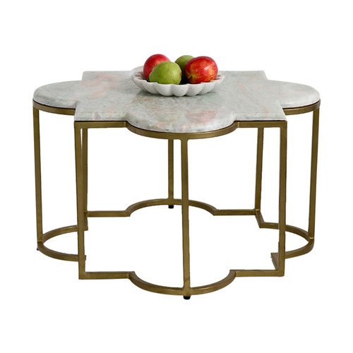 Moroccan Marble Coffee Table