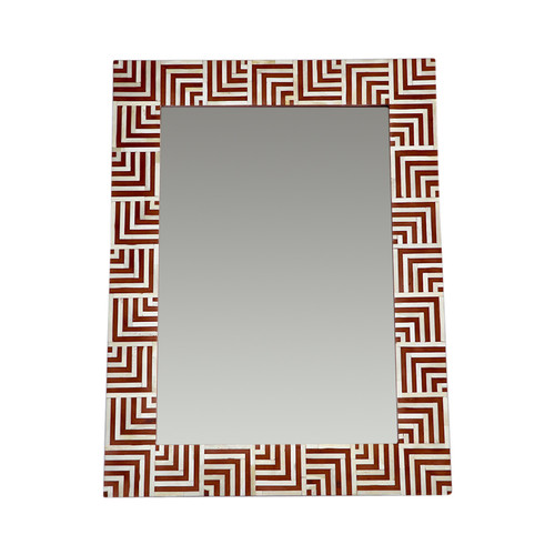 Dune Bone Inlay Mirror