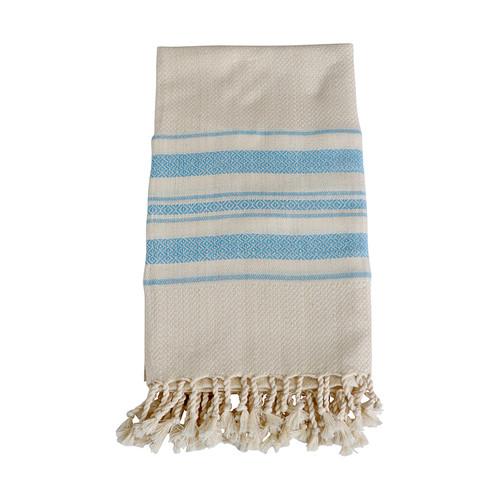 Bamboo Turkish Towel- Blue
