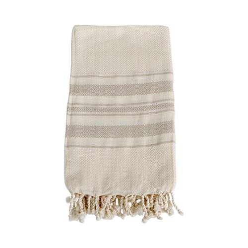 Turkish Hammam Towel- Beige