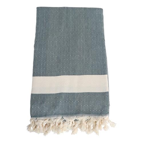 Turkish Towel Blanket- Green
