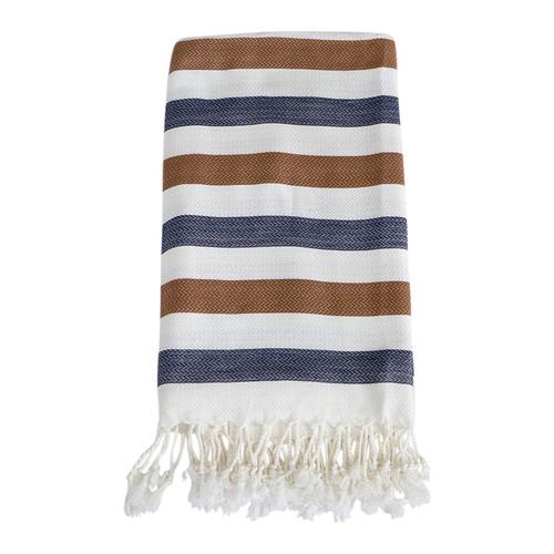 Lili Turkish Towel- Brown