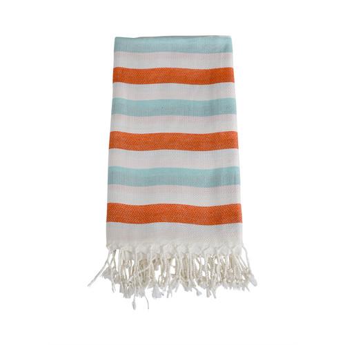 Lili Turkish Towel- Orange