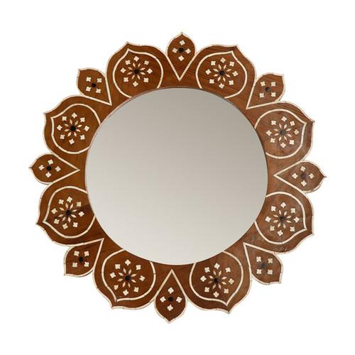 Flora Bone  Mirror