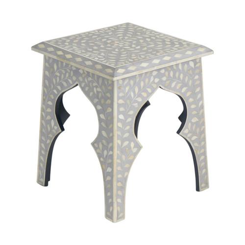Grey Bone Inlay Table