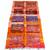 Boucherouite Rug , Orange