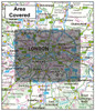 London Boroughs Administration Map - Coverage