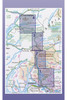 West Highland Way Route Map - Coverage and Route Division