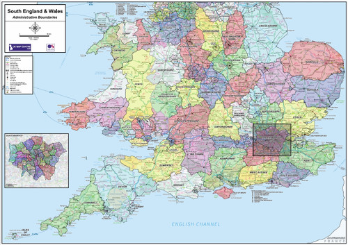National Admin Boundary Map 4 - Overview