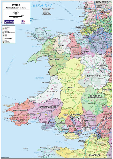 National Admin Boundary Map 5 - Overview