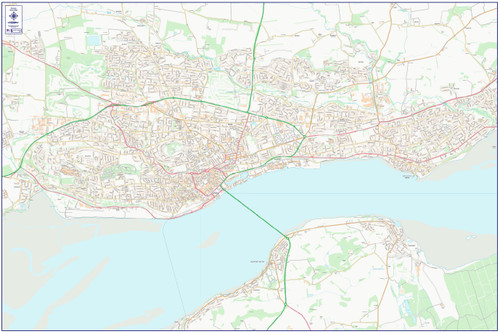 Central Dundee City Street Map