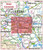 Postcode City Sector Map - Wakefield - Coverage
