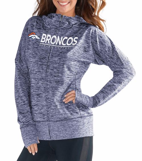 728e6ee6049 G III NFLÌÎå«Ì´åDenver Broncos Women's Spaced Dye Receiver Full ...