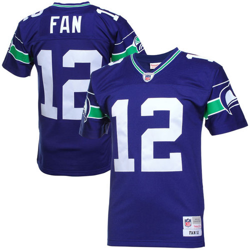 new styles c41c1 5a7a8 12th Fan Seattle Seahawks Mitchell & Ness Retired Player ...