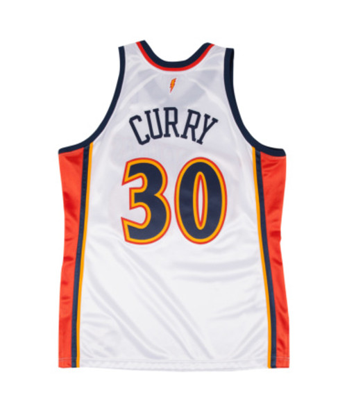 30 Fibra de poli/éster Transpirable Apretado Bordado Jersey S-XXL Stephen Curry de Golden State Warriors 2009-10 cl/ásico Novato Jersey Formal Baloncesto Hombres del Jersey No