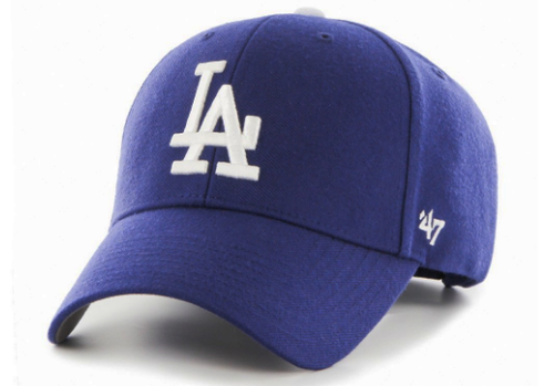 huge discount 62ede ca570 Los Angeles Dodgers  47 MVP Adjustable Hat in Blue