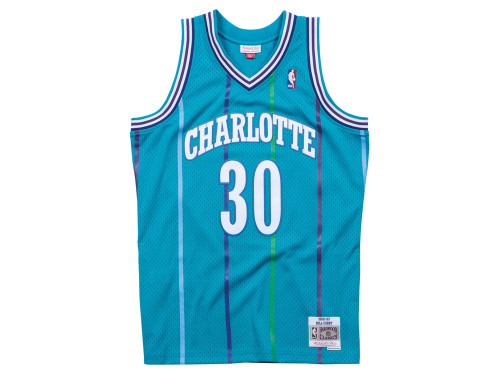 new styles bf12f e523a Charlotte Hornets Dell Curry Mitchell & Ness NBA Men's ...
