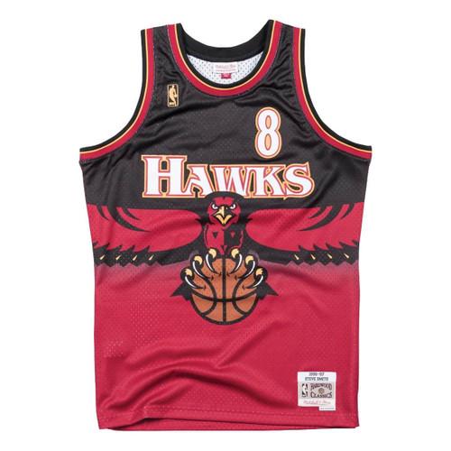 new products accdc a07cd Steve Smith 1996-97 Atlanta Hawks Road Swingman Jersey