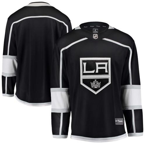 657da323a72 Los Angeles Kings Men's Fanatics Branded Black Breakaway Home Jersey