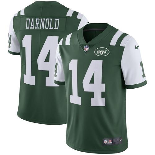 buy popular 235c7 37ad8 New York Jets Sam Darnold Men's Green Black Vapor ...