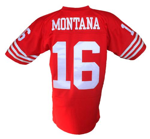 f6b9bfa95 Joe Montana Mitchell   Ness Throwback Home Jersey Stitched