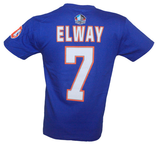 newest collection da128 c218c Broncos John Elway Hall of Fame Name & Number T-Shirt