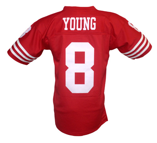 new arrival 8dc67 07213 San Francisco 49ers Steve Young Mitchell & Ness Throwback Jersey