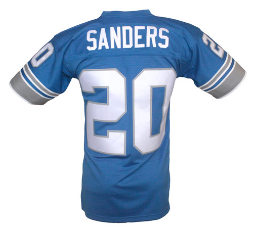 quality design 17269 a8054 Detroit Lions Barry Sanders Mitchell & Ness Throwback Jersey