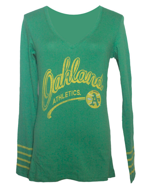 cheap for discount 7fa48 63f56 47 Brand Oakland Athletics Kelly Green Rivalry Shirt