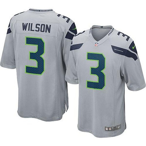 236ba3bb729 Nike Russell Wilson Seattle Seahawks Alt Youth Game Jersey