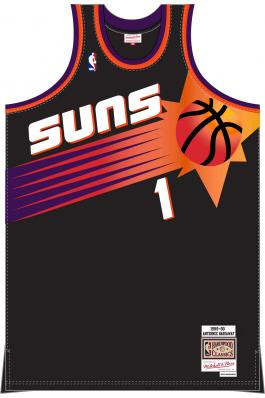 the best attitude c6e27 47857 Penny Hardaway Mitchell & Ness Suns Alternate Jersey