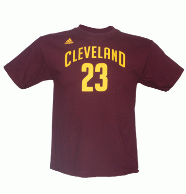 Lebron James Cleveland Cavaliers Youth Game time Player T Shirt