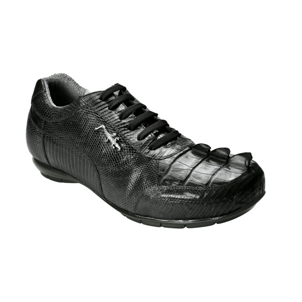 43b6c3eb Belvedere Cresta hornback and lizard soft bottom shoe.