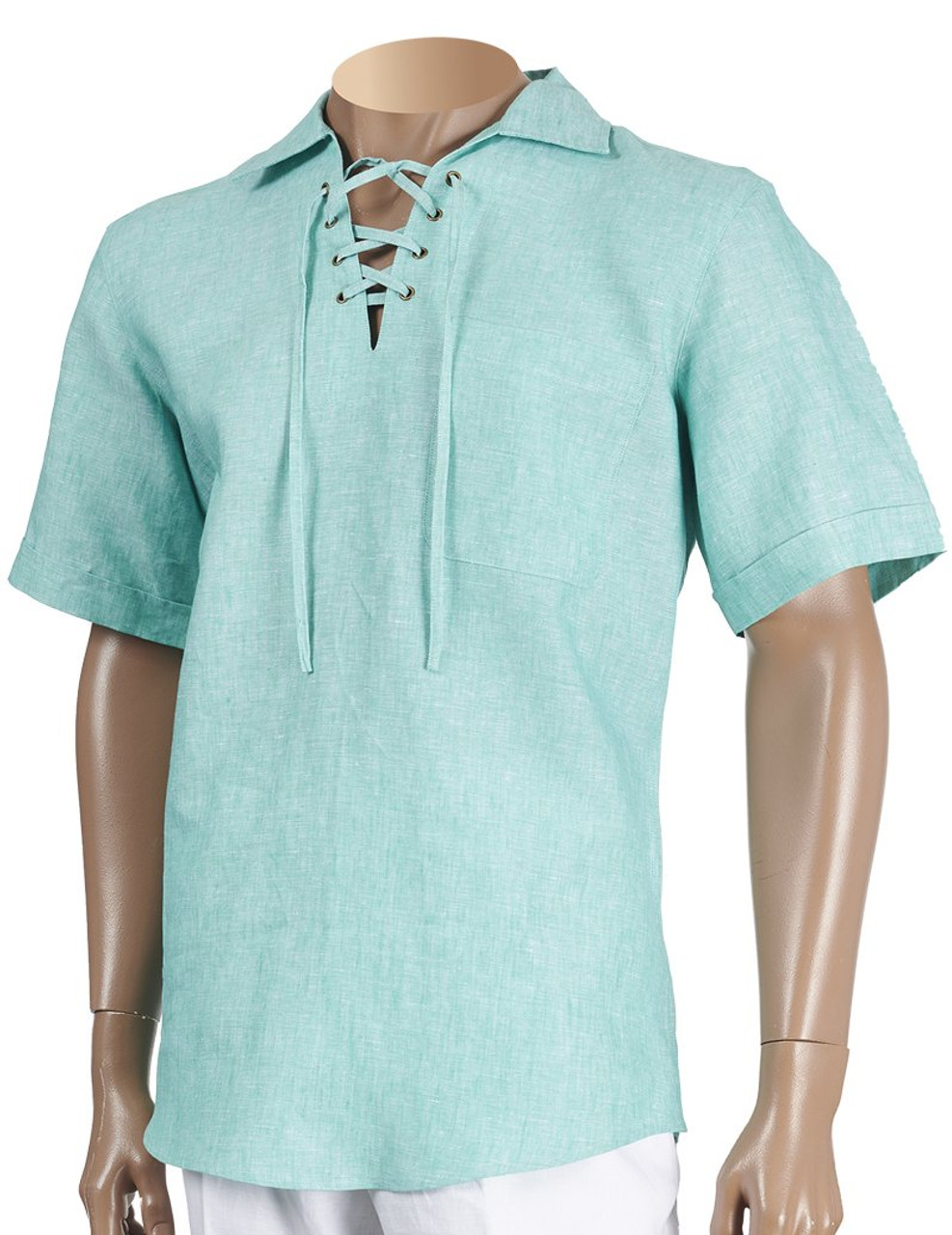 b4707f466984 Linen Lacing Front Shirts by Inserch. Keep it cool and stylish for the  summer !