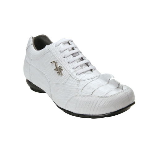 Belvedere Cresta hornback and lizard soft bottom shoe.