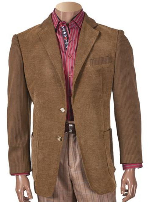 KNIT SLEEVE CHENILLE BLAZER WITH ELBOW PATCH. Prices are exclusive to online sales.