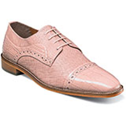 Stacy Adams Rodrigo Leather Sole Cap Toe Oxford is available in a wide variety of colors that you‰Ûªll never run out of options. Prices are exclusive to online sales.Cap toe oxfordFully cushioned insole with Memory Foam for added comfortLeather sole