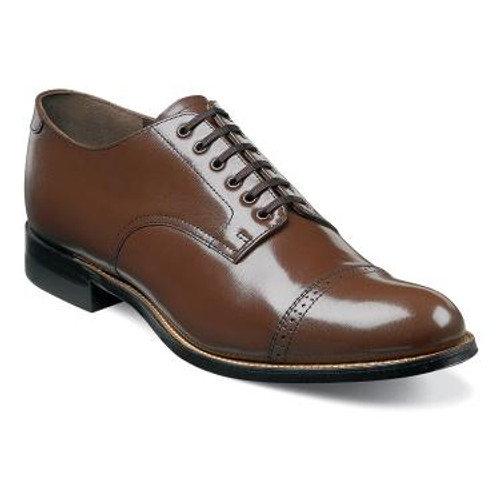 The Madison is a cap toe oxford.
