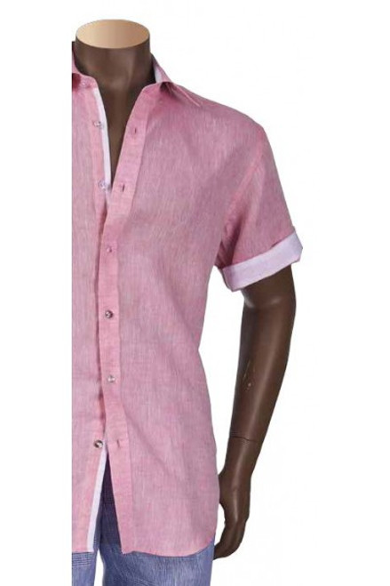 This LINEN SHORT SLEEVE SHIRTS by Inserch is just what you need this Spring,Summer season. Prices are exclusive to online sales.