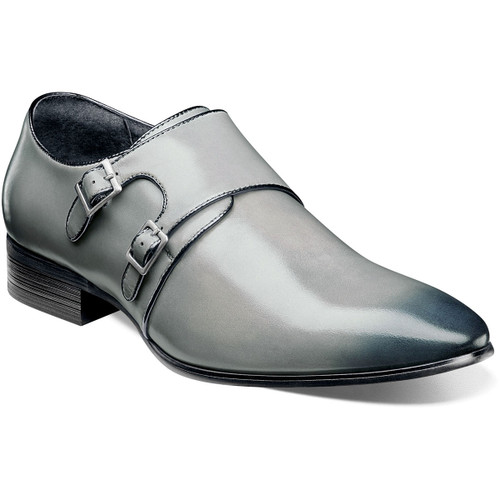 Subtle styling is the key to the Vance. This sleek, double monk strap has a beautifully burnished plain toe, elegant piping details along the strap and two antique silver buckles of varying sizes. Taken together they create a shoe that is understated but never overlooked.Smooth leather upperFully cushioned insole with Memory Foam adds all-day comfortLeather lining for comfort and breathabilityNon-leather (Leather-look) dress Sole (Flexible, Durable)