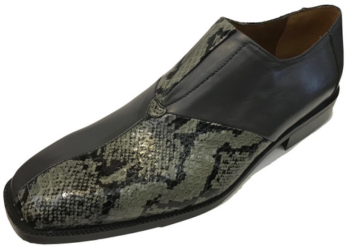 Genuine Snake & Leather Upper. Clearance.