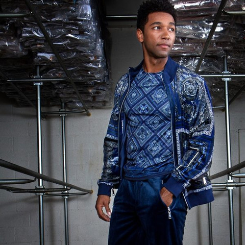 GQ offers a Luxury Two Piece Jogging suit in a variety of colors and styles by Prestige.