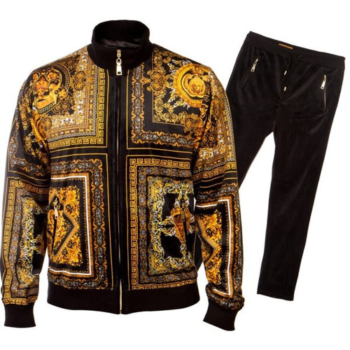 GQ offers a Luxury Two Piece Jogging suit in a variety of colors and styles by Prestige.This show stopping get up will make you the main attraction as you walk through the doors.Prices are exclusive to online sales.