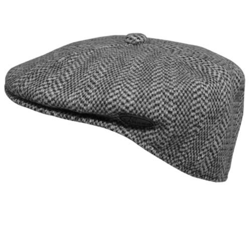 Kangol 0264KG Wool Herringbone 504 CAP. Black