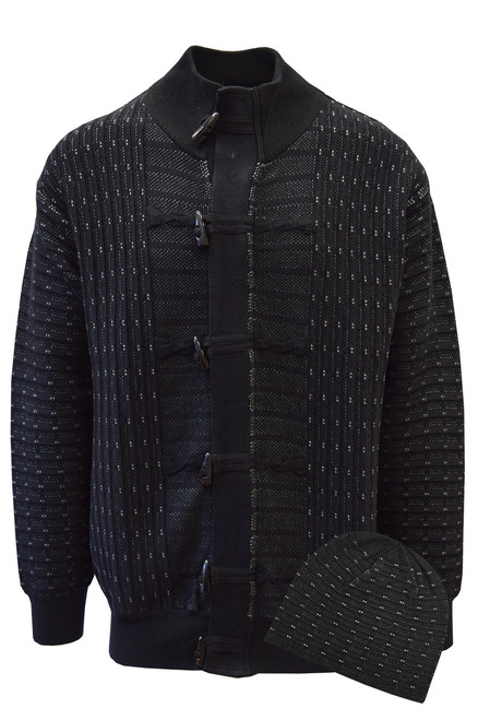 SilverSilk Knitted Full Zipper Designer Sweater Jacket