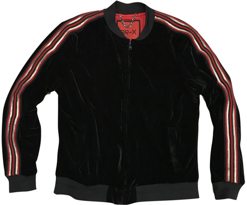 Velour Jacket and Velour Pant Set made by Cigar.Ribbed Waistband.Ribbed Cuffs.Fully Lined.