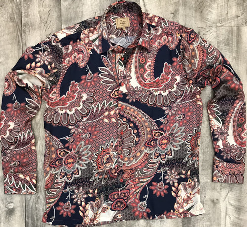 Satin Shirt by Cigar.