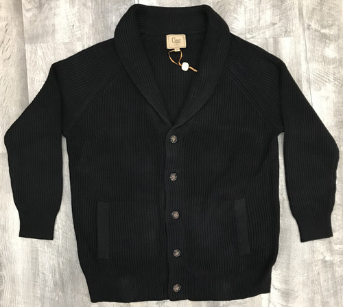 Shawl Collar Sweater by Cigar.